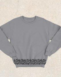 sweater siluet abu